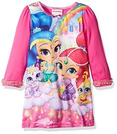 Nickelodeon Girls' Shimmer and Shine Toddler Nightgown -- Check out this great image @