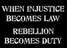 Wenn #Ungerechtigkeit zu #Recht wird, dann wird #Wiederstand zur #Pflicht! (Zitat von Berthold Brecht - Irrtum vorbehalten)