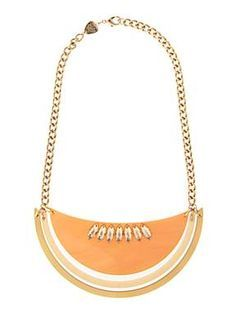 Melon Large Necklace - Cantaloupe £81 (sale £40.50) - SS12
