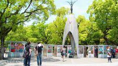japan hirosima  peace Memorial Park