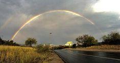 About today. Image credit Coen van den Berg. #rainbow #phalaborwa #phalaborwaco #rainydays #nature #skies Country Roads, Image, Instagram