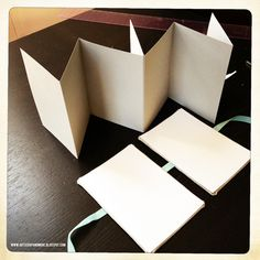 art scrap & more: alexandras Sunday scrapbook - How to Make an Accordion Mini