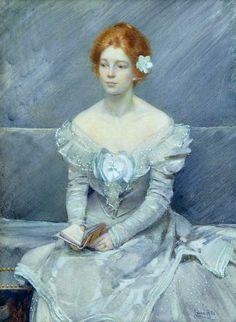 Laura Coombs Hills Fire Opal (Grace Mutell) 1899