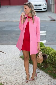 Perfect outfit idea to copy ♥ For more inspiration join our group Amazing Things ♥ You might also like these related products: - Shorts ->. Pretty Outfits, Stylish Outfits, Beautiful Outfits, Style Work, Mode Style, Pink Fashion, Colorful Fashion, Pinke Outfits, Look Rose
