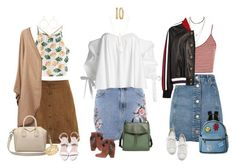 """""""Sin título #5443"""" by xoxominyeol ❤ liked on Polyvore featuring Topshop, Caroline Constas, WithChic, Gucci, Strategia, Santoni, Givenchy, IMoshion, Skagen and Natalie B"""