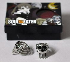 Death the Kid Rings from Soul Eater. You can buy them on Ebay!