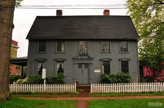 Old Wethersfield, Ct historical homes - love this house!!  Can we find one in nw Ohio?