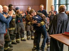 Dawson and Casey Get Married, Chicago Fire