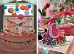 CAKE.   events + design: real parties: a colorful first birthday