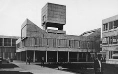 : David Lister High School, Kingston-upon-Hull, East Yorkshire, UK, 1960s (Lyons Israel Ellis)