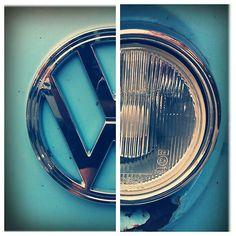 VW beetle and emblem