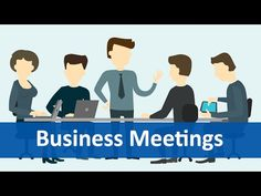 Common Expressions #6 (Business Meetings) | English Listening & Speaking Practice - YouTube
