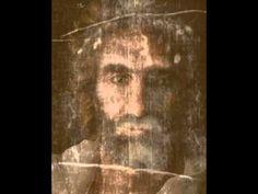 Transition of the Shroud of Turin Image and Jesus Painting by Akiane Kramarik