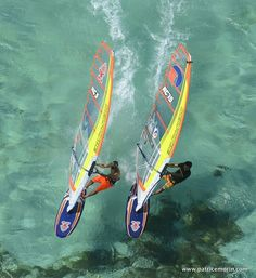 New Caledonia windsurf slalom team #paradise#windsurf#love