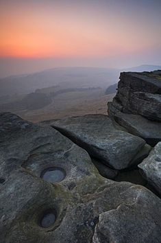 Stanage Edge, Derbyshire, England