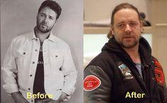 Aging... Russell Crowe