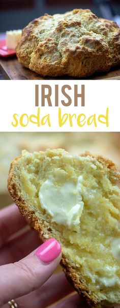 easybreadrecipe traditional sodabread slather butter recipe irish bread this year long make with soda all Traditional Irish Soda Bread We make this all year long and slather with butter or jamYou can find Irish recipes and more on our website Baking Soda Biscuits, Bread Baking, Easy Bread Recipes, Cooking Recipes, Irish Food Recipes, Scottish Recipes, Simple Recipes, Irish Soda Bread Recipe, Irish Bread