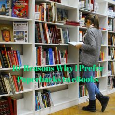 10 Reasons Why I Prefer Paperbacks to eBooks - Playground of Randomness Playground, Ebooks, Posts, Popular, Blog, Children Playground, Messages, Popular Pins, Blogging