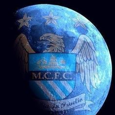 Manchester City Wallpaper, Blue Moon Rising, Zen, Blue City, Man On The Moon, Messi, Postcards, Soccer, Fandom