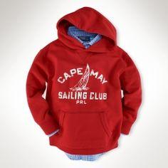 Polo Cape hoodie