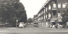 Snelliussingel gezien vanaf de Boerhaavelaan 1980