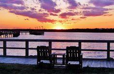 Sunset at Soundside Park