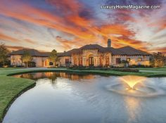 LHM Dallas/Ft. Worth - Luxurious Single Level Estate On 2 Acres #LuxuryHomes #RealEstate #Luxury