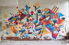 Melbourne, Australia  Artist: Nelio  Graffuturism