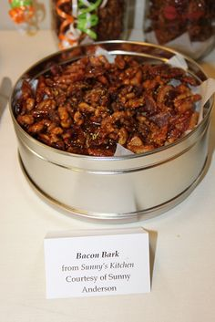 Bacon Bark from Sunny Anderson