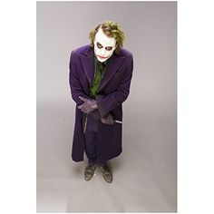 Batman The Dark Knight Heath Ledger is The Joker Arms Crossed Holding Knife 8 x 10 Photo ** Check this useful article by going to the link at the image. #EntertainmentCollectiblePhotographs