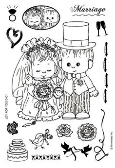 Crafter's Companion - Morehead Clear Stamp - Marriage