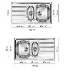 Lavello Cucina Due Vasche – Casamia Idea di immagine