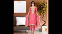 Designer Chanderi Suit