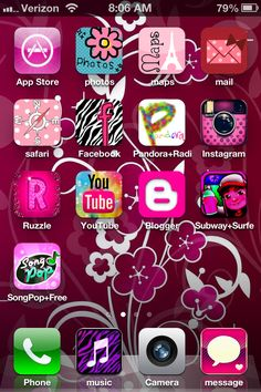 I did it!! Changed my icons without jailbreaking my phone....!!!! Get the app cocoPPa it's free!!!!