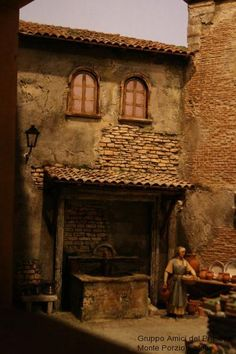 Click to Close Hirst Arts, Christmas Nativity, Beautiful Christmas, Scale Models, Good Music, Miniatures, Architecture, Terrarium, Modeling