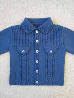 Ravelry: jeanh's Andrew's 2nd Birthday Jacket