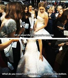 Jennifer Lawrence and I would get along very well.