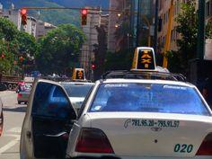 Línea de taxis Caracas Venezuela.