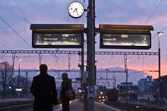 The Swiss train timetable is planned to the second