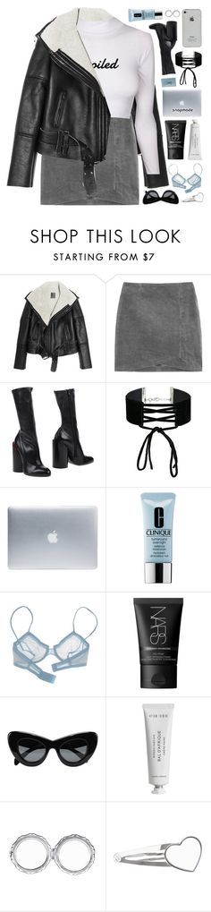 """""""don't mind me"""" by celhestial ❤ liked on Polyvore featuring Lot78, Givenchy, Miss Selfridge, Incase, Clinique, La Perla, NARS Cosmetics, CÉLINE and Byredo"""