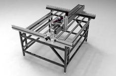 DIY Cast CNC Router