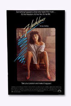 Flashdance Film Poster
