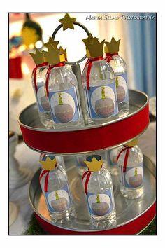 Little Prince Boy Fairytale Storybook 1st Birthday Party Planning Idea