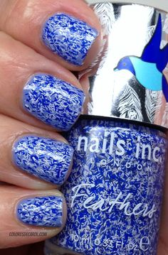 Colores de Carol: Nails Inc Feathers - Cornwall