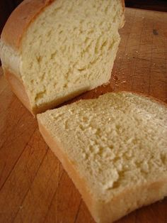 Miracle Bread - only takes one hour to make, start to finish! They don't buy bread anymore.  (she said she's made the whole wheat version, and her family loves that one too!) - make it whole wheat!.