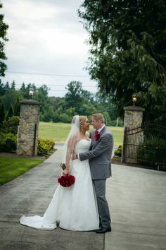 Elegant red and white wedding #seattleweddingplanner #customdecor www.essenceofevents.com