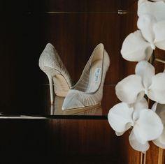 """Weddings & Celebrations on Instagram: """"B E A U T I F U L D E T A I L S...  Our bride wore exquisite Jimmy Choo wedding shoes with her elegant and striking wedding dress. …"""" Bridal Shoes, Wedding Shoes, Dress Wedding, Marquee Wedding, Destination Wedding Planner, Industrial Wedding, Celebrity Weddings, Luxury Wedding, Wedding Designs"""
