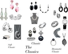True Winter Jewelry 3 Classics- soft classic not for me, I need a 4th and 5th style 'Gothic Classic' and 'Graphic Classic'.
