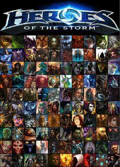 Heroes Heroes Of The Storm, Starcraft, Movie Posters, Movies, Films, Film Poster, Cinema, Movie, Film