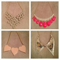 Super tendência, os maxi colares garantem o glamour em qualquer look básico! Sábado, estes estão na loja! Gostaram, Meninas?!?!  #trend #maxicolar